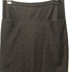 Theory Ladies Black Skirt